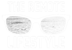 The Remote Lifestyle Footer White Logo