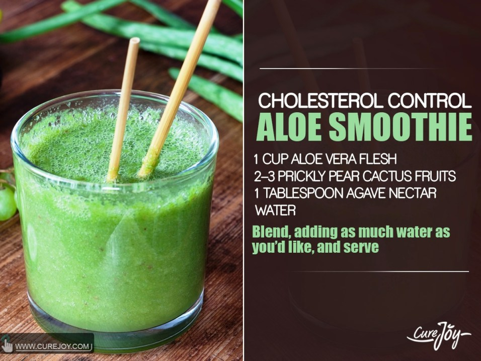 Cholesterol-Control-Aloe-Smoothie