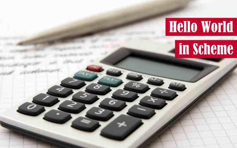 Hello World in Scheme Featured Image