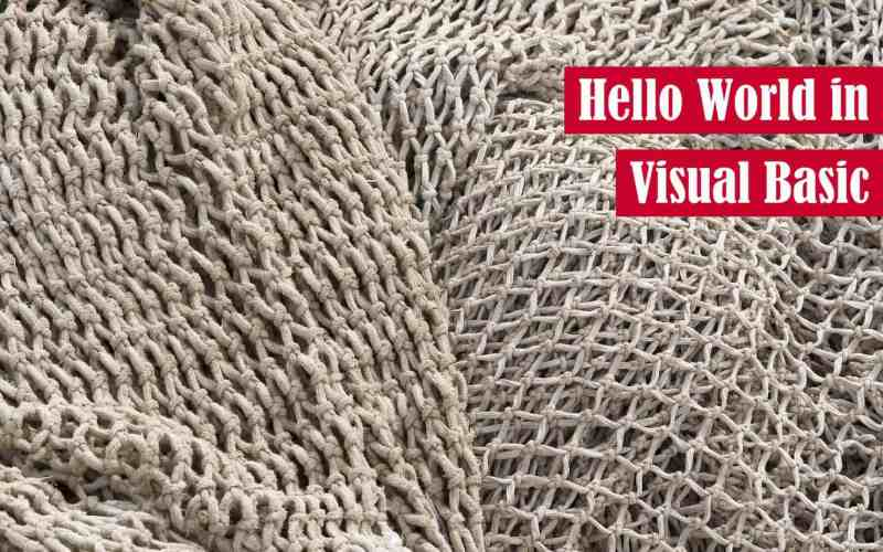 Hello World in Visual Basic Featured Image