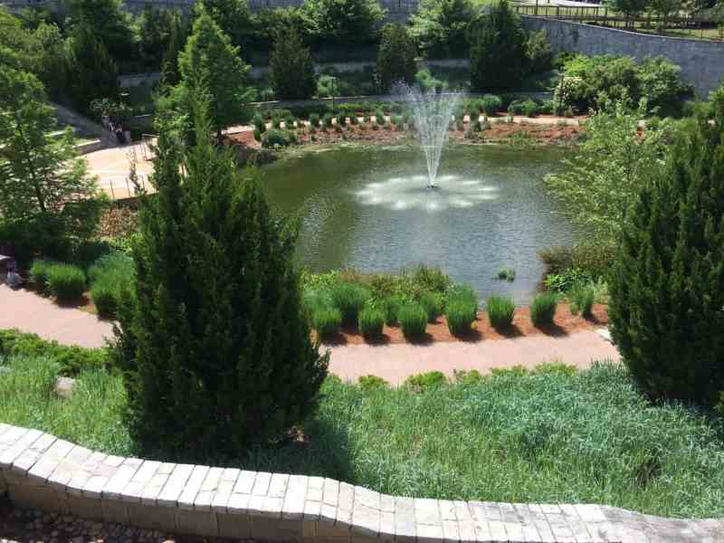 Atlanta Historic Park Fountain