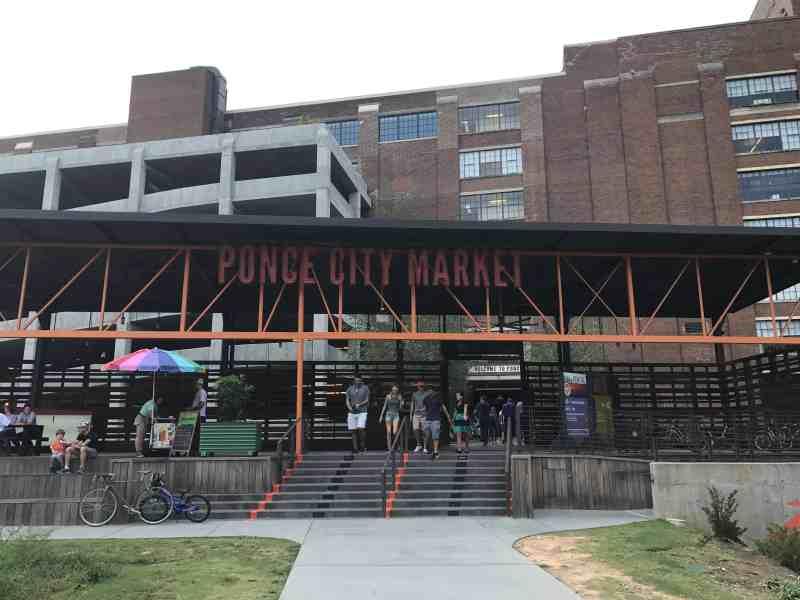 Ponce City Market Beltline Entrance