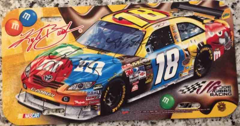 Kyle Busch License Plate