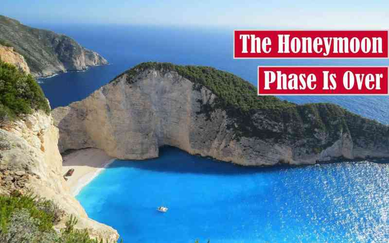 The Honeymoon Phase is Over Free Featured Image