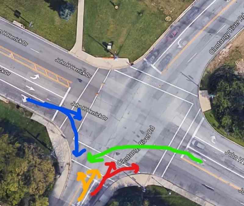Columbus Intersection Dangers