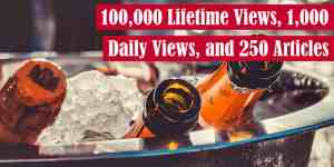 100,000 Lifetime Views, 1,000 Daily Views, and 250 Articles Featured Image