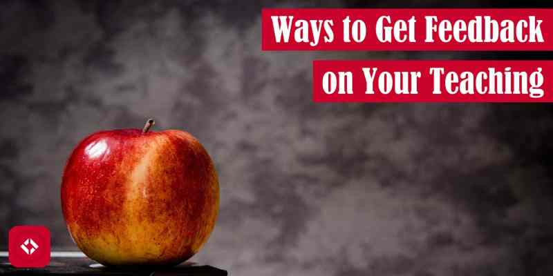 Ways to Get Feedback on Your Teaching Featured Image