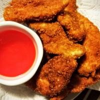recipe: gluten free chicken fingers!