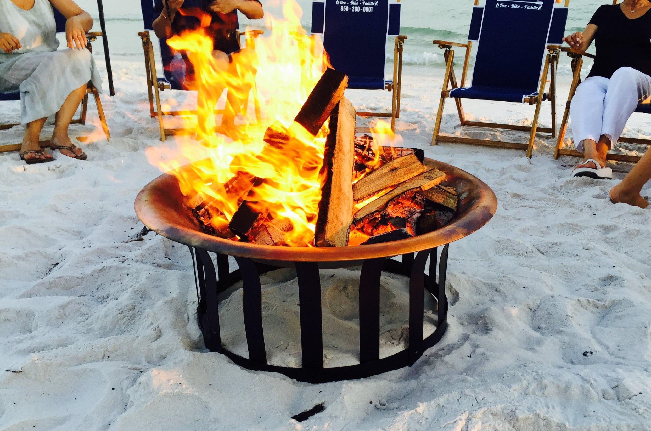 30A 30A Destin Beach Bonfires  245 Beach fire services w