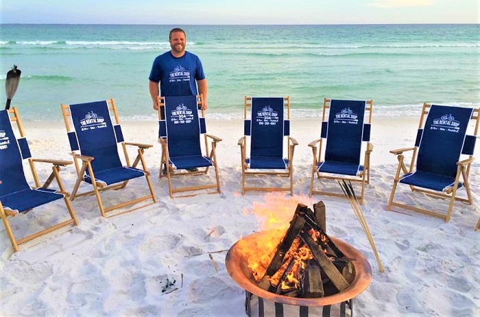 30A 30A Destin Beach Bonfires  270 Beach fire services w