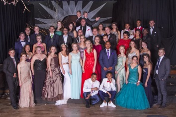 Hangklip 2016 matrics had a ball at their matric farewell.
