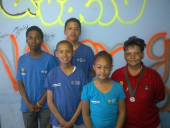 Pupils, who represented the Chris Hani district at the provincial schools table tennis games, were selected to represent the province at the SA Schools championships during December in Pretoria. Back from left, Rivaldo Constable, Kyle Simons and front from left, Cohl Simons, Nitaya McCuur and Dawne Fortuin. Foruin attended the SA Veterans championships and obtained a bronze medal