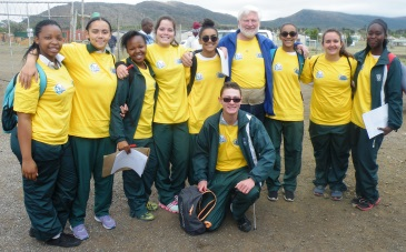 The Hangklip Interact Club helped out at the Rotary Health Days in Ilinge  Picture: SUPPLIED