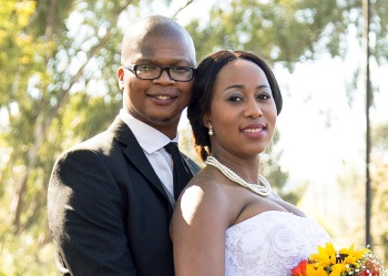 Zikhona Peter and Athenkosi Kakaza were married at the Twelve Apostles Church, Komani  Picture: PIXEL PERFECT PHOTOGRAPHY