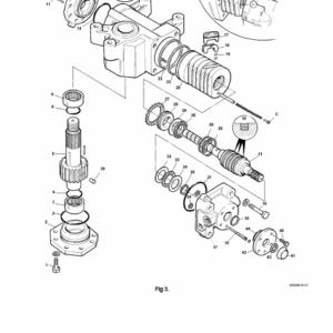JCB 1CX Backhoe Loader Service Manual