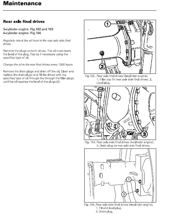 Massey Ferguson MF 2210/2220/2230 Service Manual Heavy