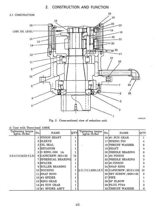 Kobelco Sk100 L V Sk120 V Sk120Lc V Hydraulic Crawler