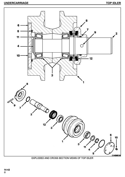 Komatsu Dresser TD7H, TD8H, TD9H Dozer Service Manual