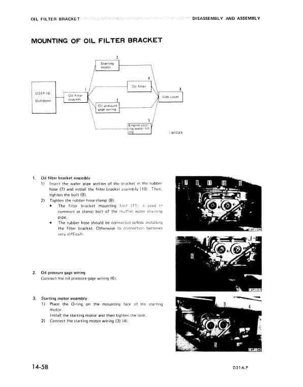 Komatsu D31A-16, D31P-16 Dozer Service Manual