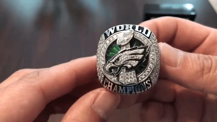 Philadelphia Eagles Super Bowl Ring High Quality Replica ring