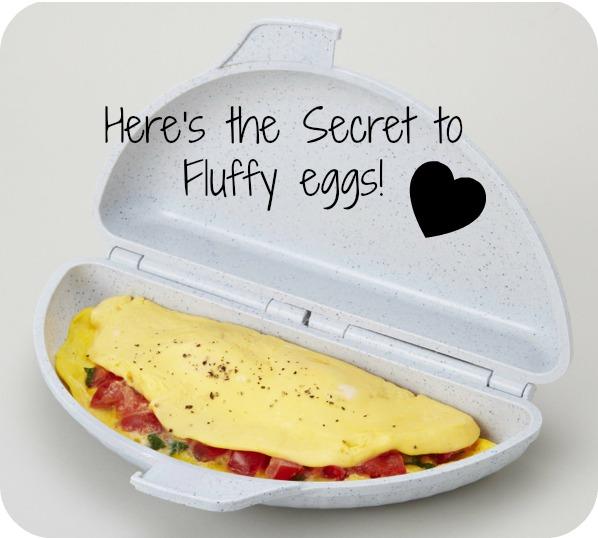 Super Fast Breakfast Idea Plus a Secret for Fluffy Eggs