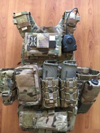 Armor Plate Carrier Setup