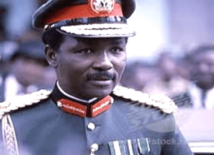 Yakubu Gowon as a military head of state