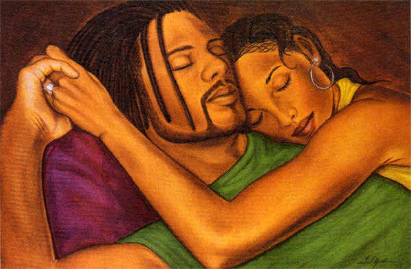 Image result for Black man and woman close