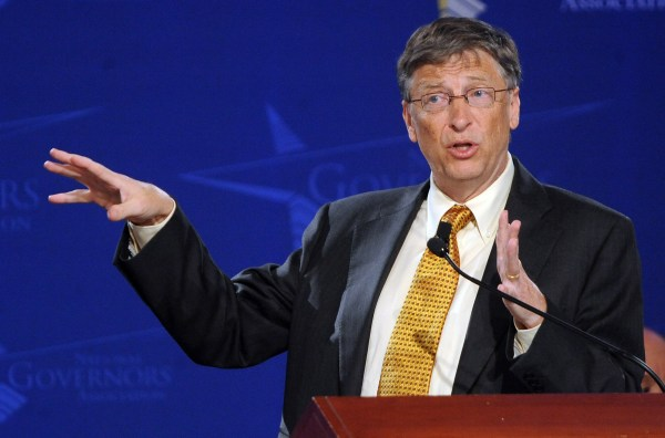 Bill Gates addresses National Governors Association in Washington