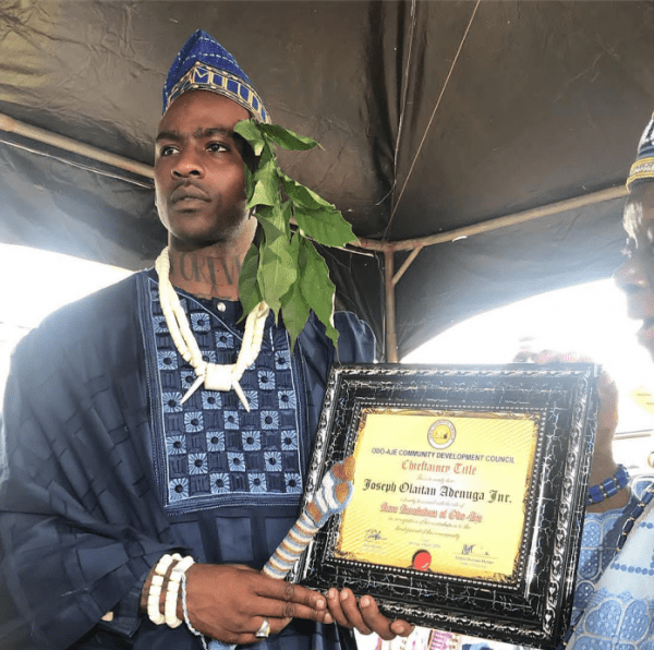 Skepta-Bestowed-Chieftaincy-Title-In-His-Hometown