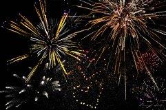 New Year's Eve 2017 fireworksd, Canberra, Australia