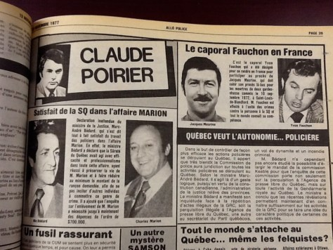 Note that SQ's Fauchon (who we have written about in these cases) was sent to France for the Mesrine trial