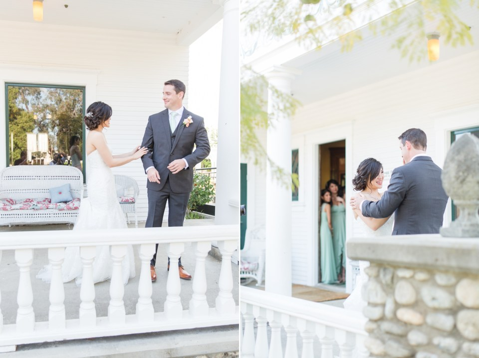 Grooms reaction to a first look