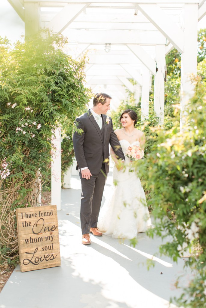 Candid bride and groom walking image Theresa Bridget Photography
