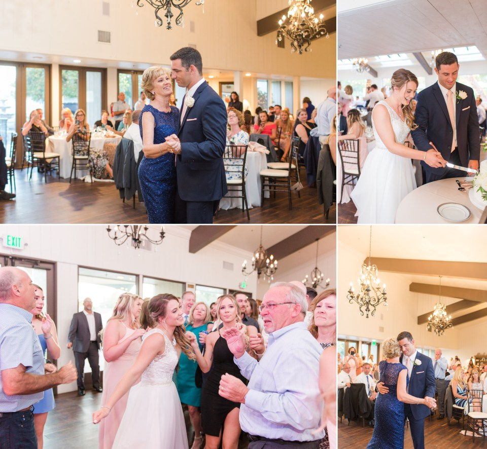 Coto Valley Country Club wedding reception in Coto De Caza California.