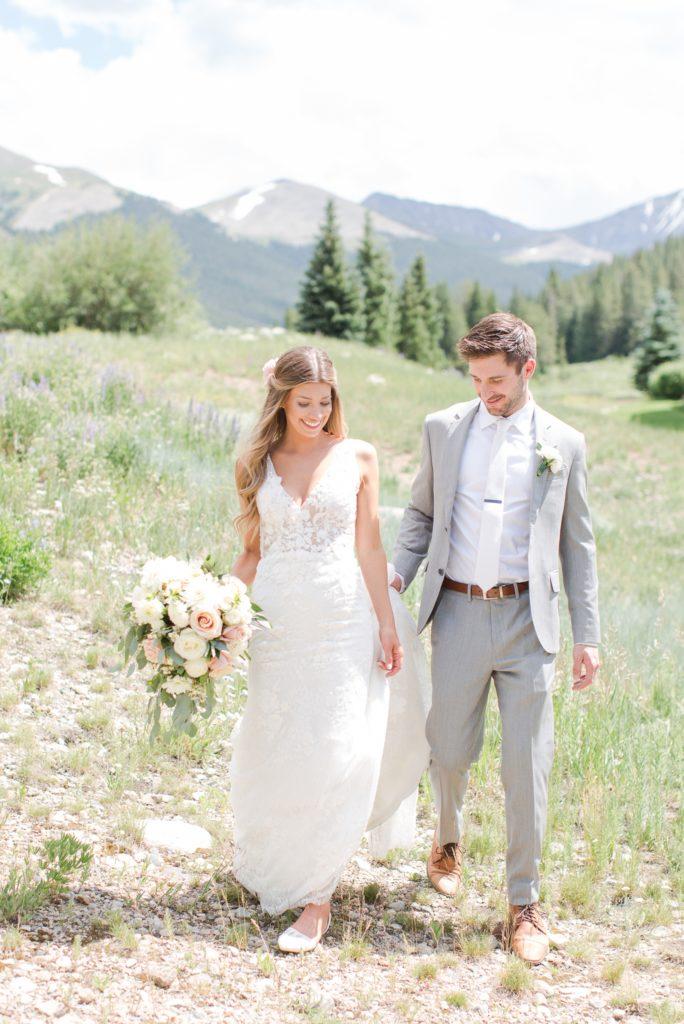 Colorado wedding photographer Theresa Bridget Photography. Copper Mountain wedding resort.