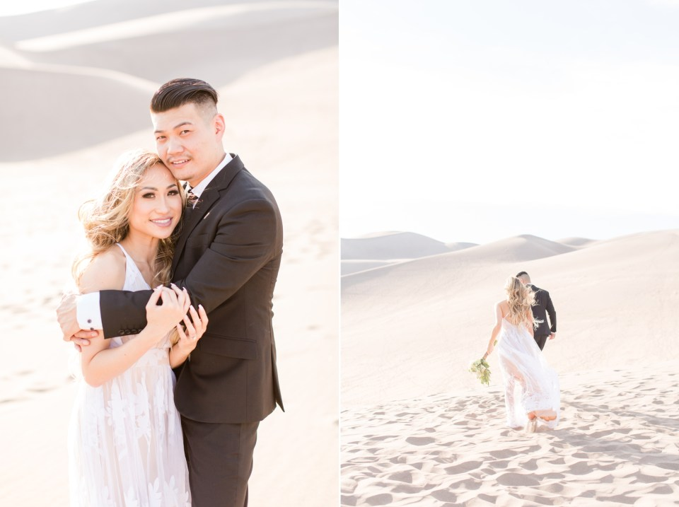 Unique Colorado elopement destinations, Great Sand Dunes National park