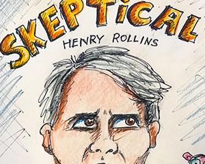 Skeptical Henry Rollins
