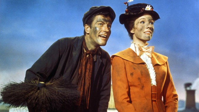 Burt and Mary Poppins
