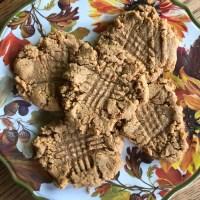 The Best Gluten free + Dairy free Peanut butter cookies {Soft, Crisp, GF, DF}