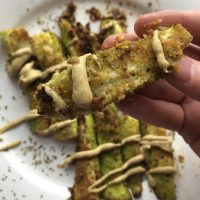 Healthy Zucchini Fries {Gluten-free, Vegan, Dairy-free, Easy}