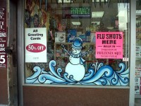 GST Pharmacy, More Brooklyn Holiday Windows | Painting ...