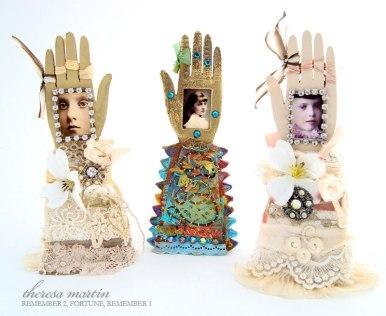 Glove/ Arm Reliquaries