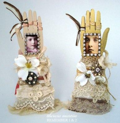 Glove/Arm Reliquaries Remember 1 & 2