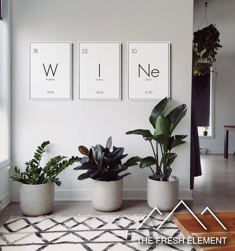 The Fresh Element Wall Art