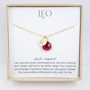 leo cancer necklace