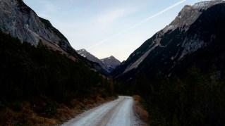 Hinein ins Karwendeltal