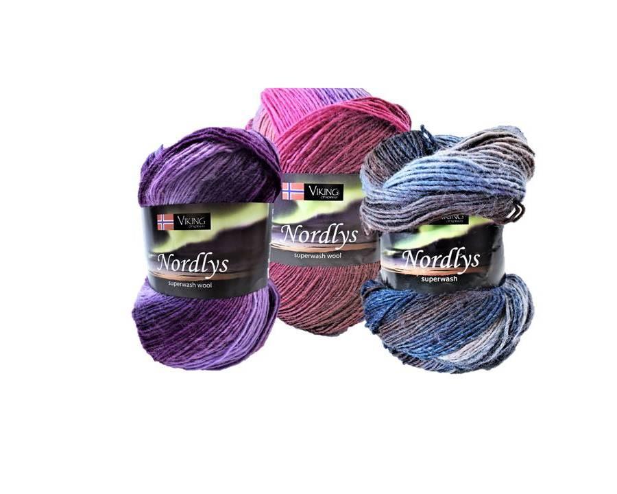 Viking of Norway Nordlys Superwash Yarn Group