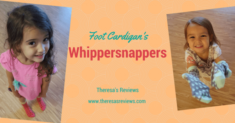 Foot Cardigan's Whippersnappers Review - Theresa's Reviews -www.theresasreviews.com