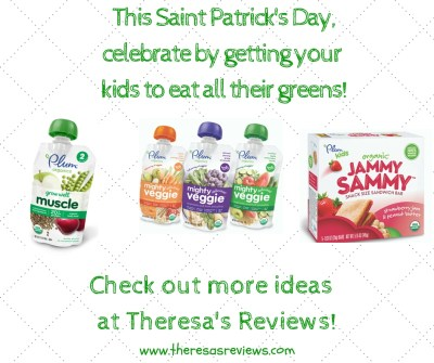 4 Simple Ways to Celebrate St. Patrick's Day - Featuring @plumorganics - On Theresa's Reviews